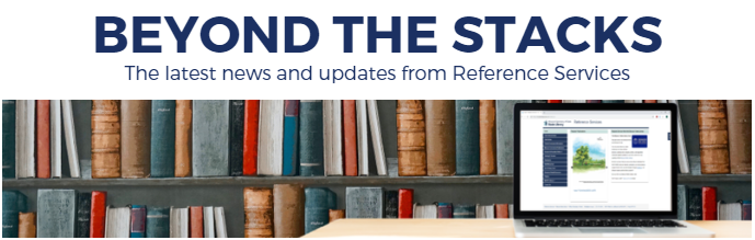 Beyond the Stacks newsletter logo