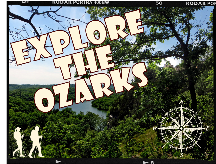 Explore the Ozarks poster