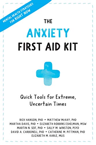The Anxiety First Aid Kit book cover