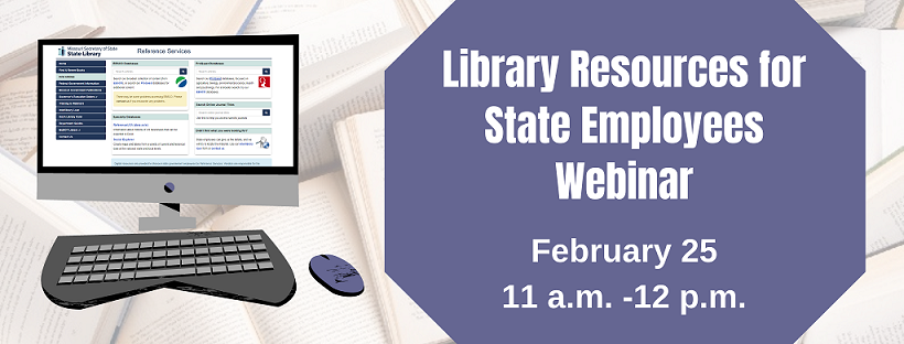 Library Resources for State Employees webinar