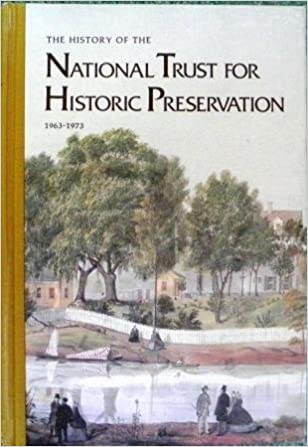 The History of the National Trust for Historic Preservation book cover