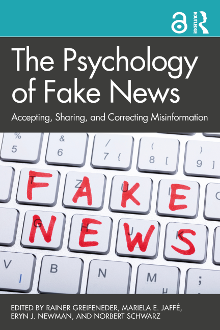 Psychology of Fake News book cover