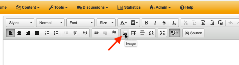 Image selection icon
