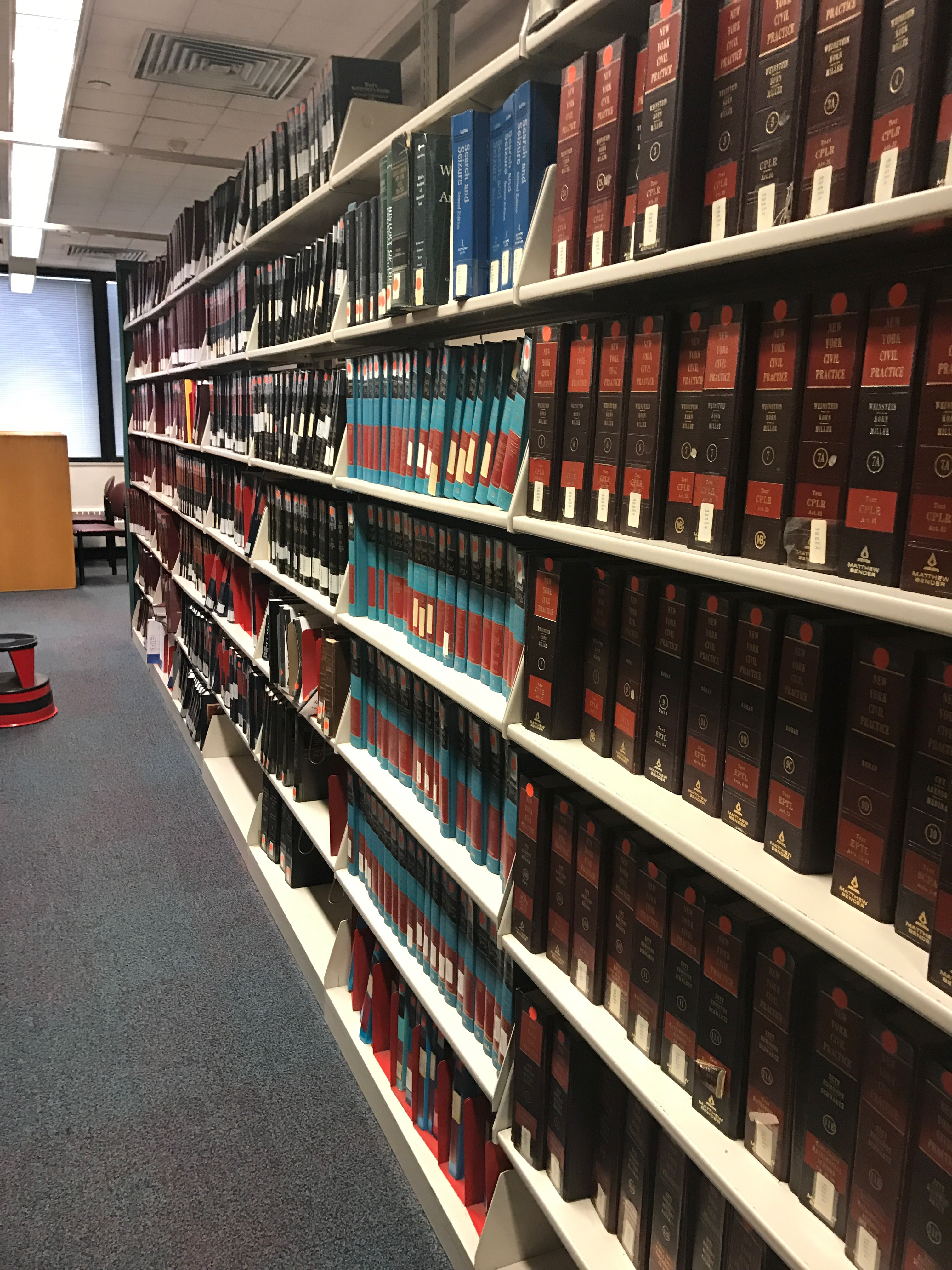 City Tech Library's Legal Reference Collection