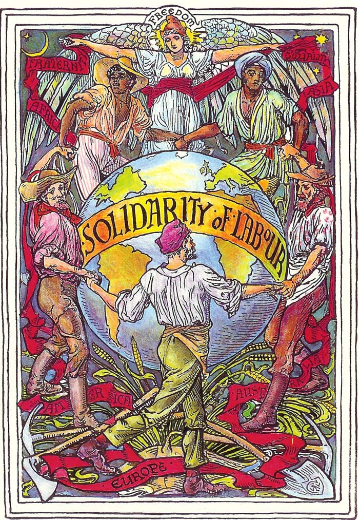 Image created by Walter Crane to celebrate May Day.