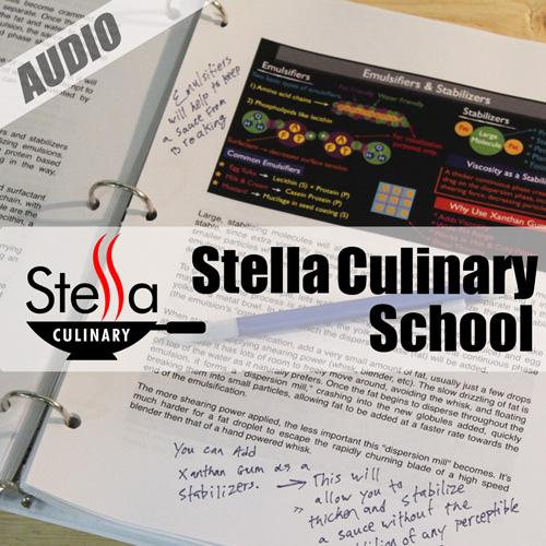 Stella Culinary School Podcast
