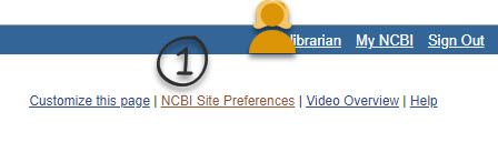 Select NCBI Site Preferences