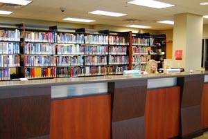 Image of reference desk