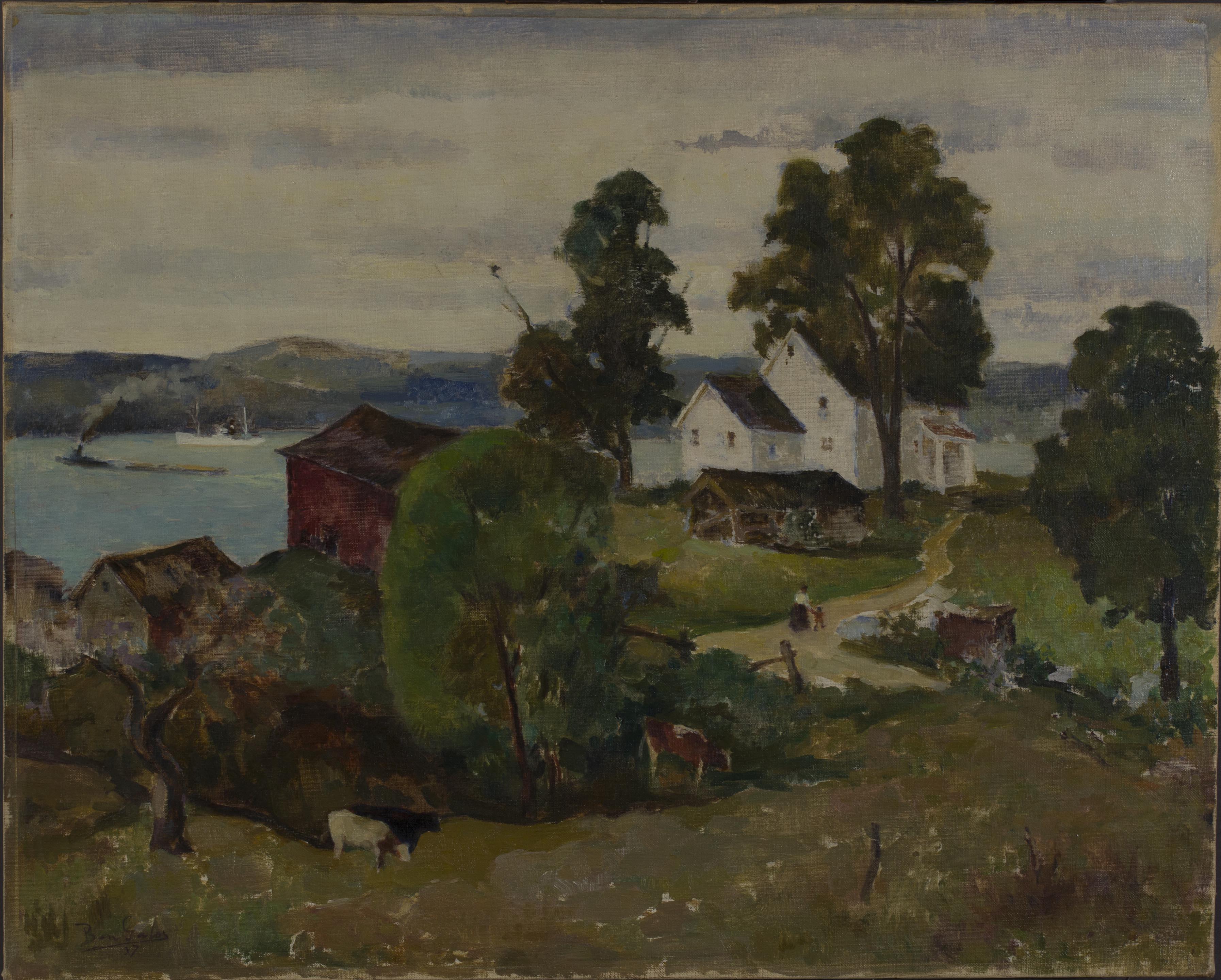 Ben Galos, Old Farmhouse,