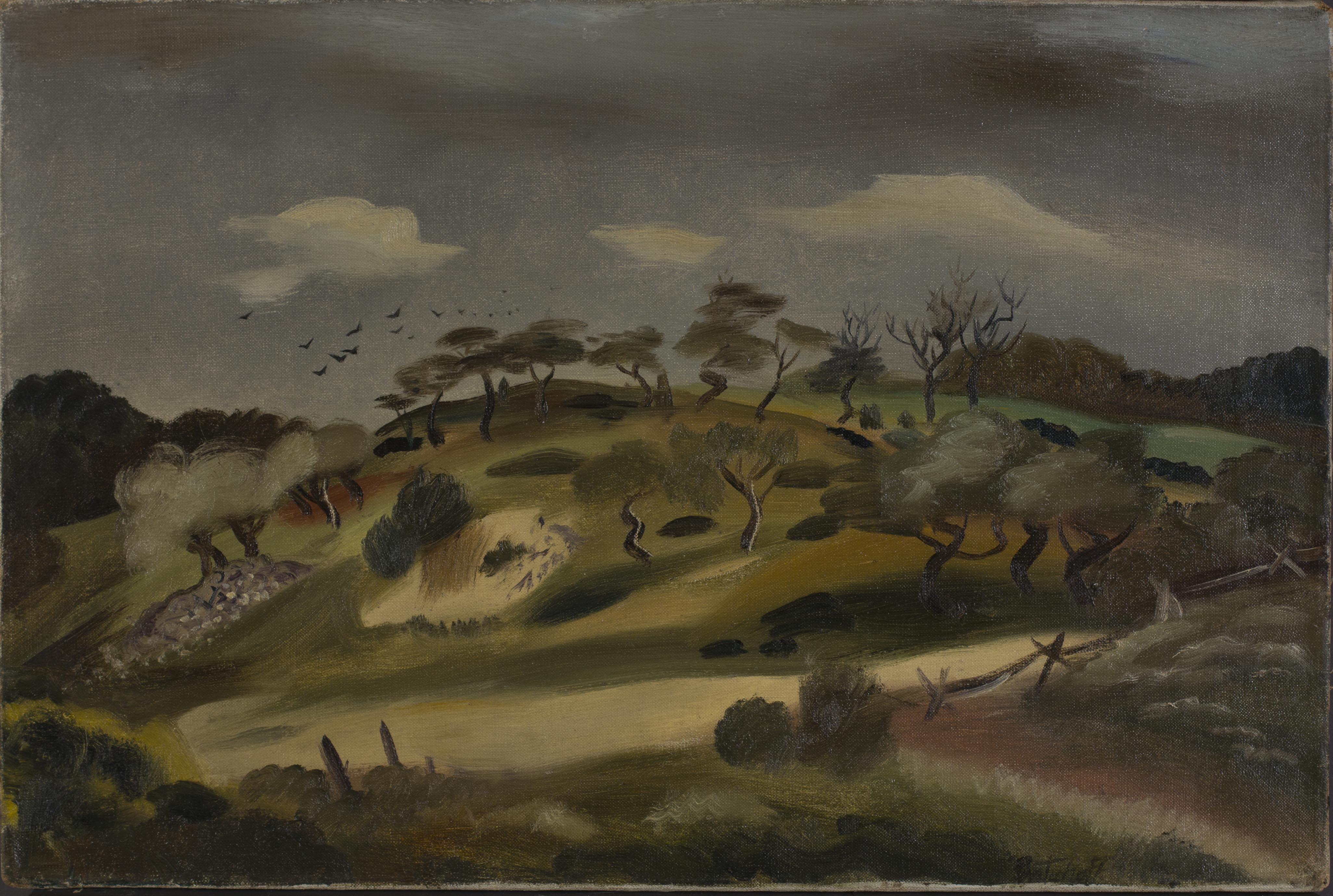 Igor Pantuhoff, Untitled (Landscape)