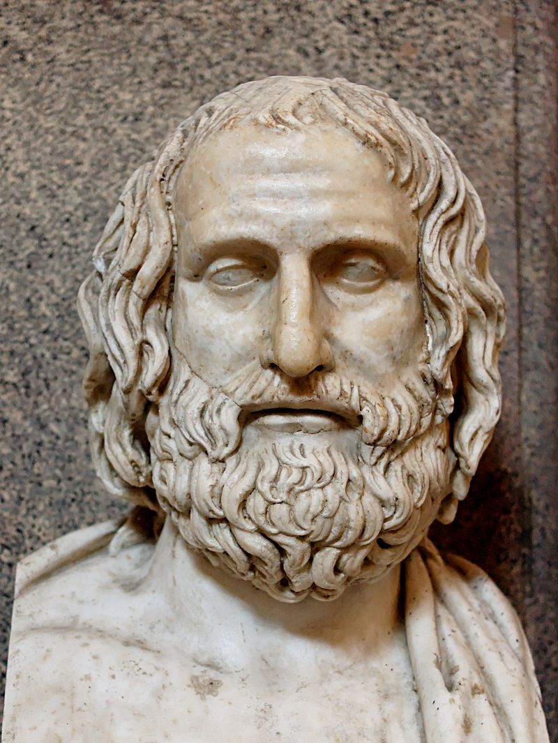 euripides bust