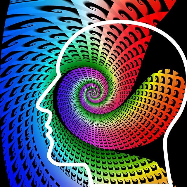 Colorful Spiral head