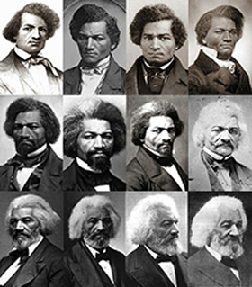 Frederick Douglas collage