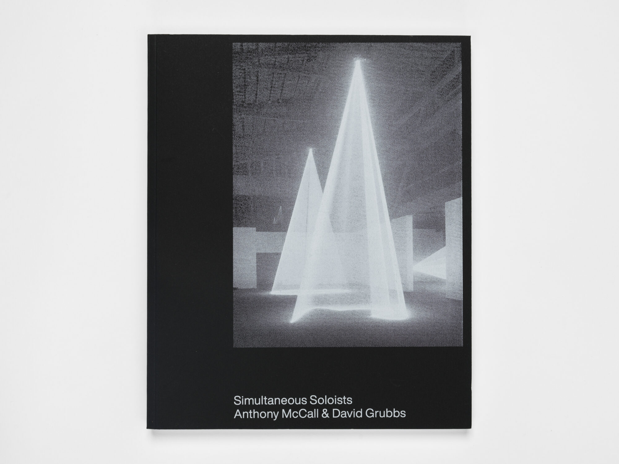 cover of David Grubbs and Anthony McCall	Simultaneous Soloists. Pioneer Works Press, 2019.	N6797.M335 A4 2019