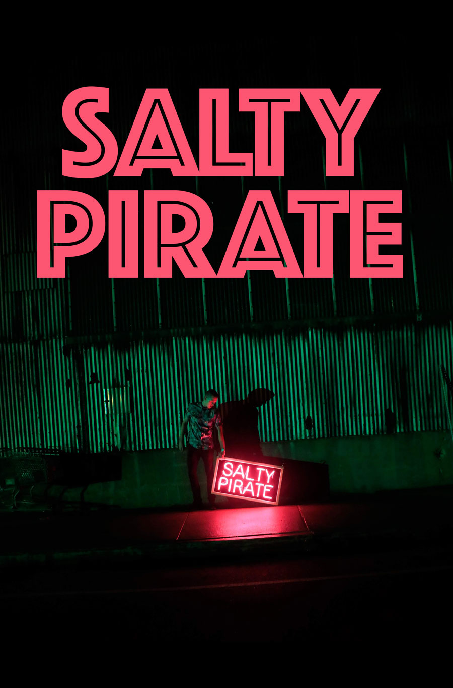 cover of Charles Haine, Salty Pirate. Ficto, 2020