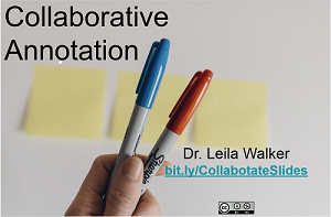 Collaborative Annotation.