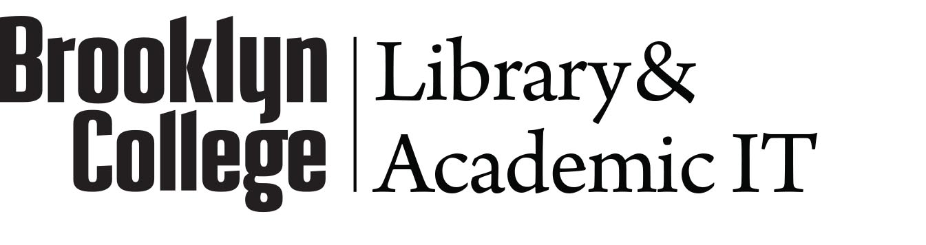 Brooklyn College Library and Academic IT Logo