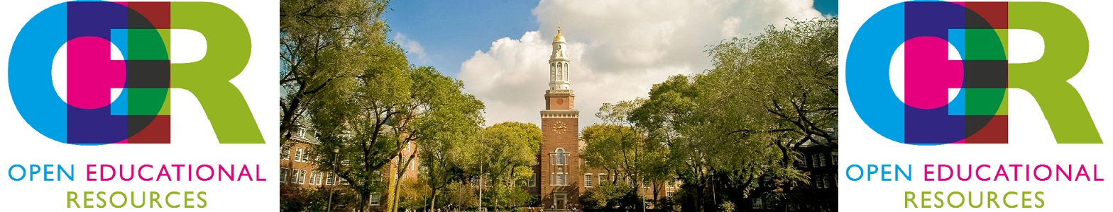 Brooklyn College Campus. Click to return the guide's homepage.