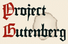 Project Gutenberg logo; Link to Project Gutenberg