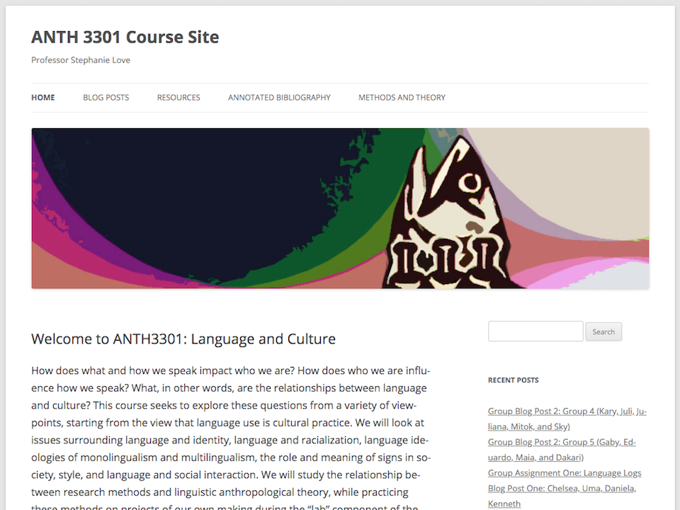 anth 3301 screenshot, click for site