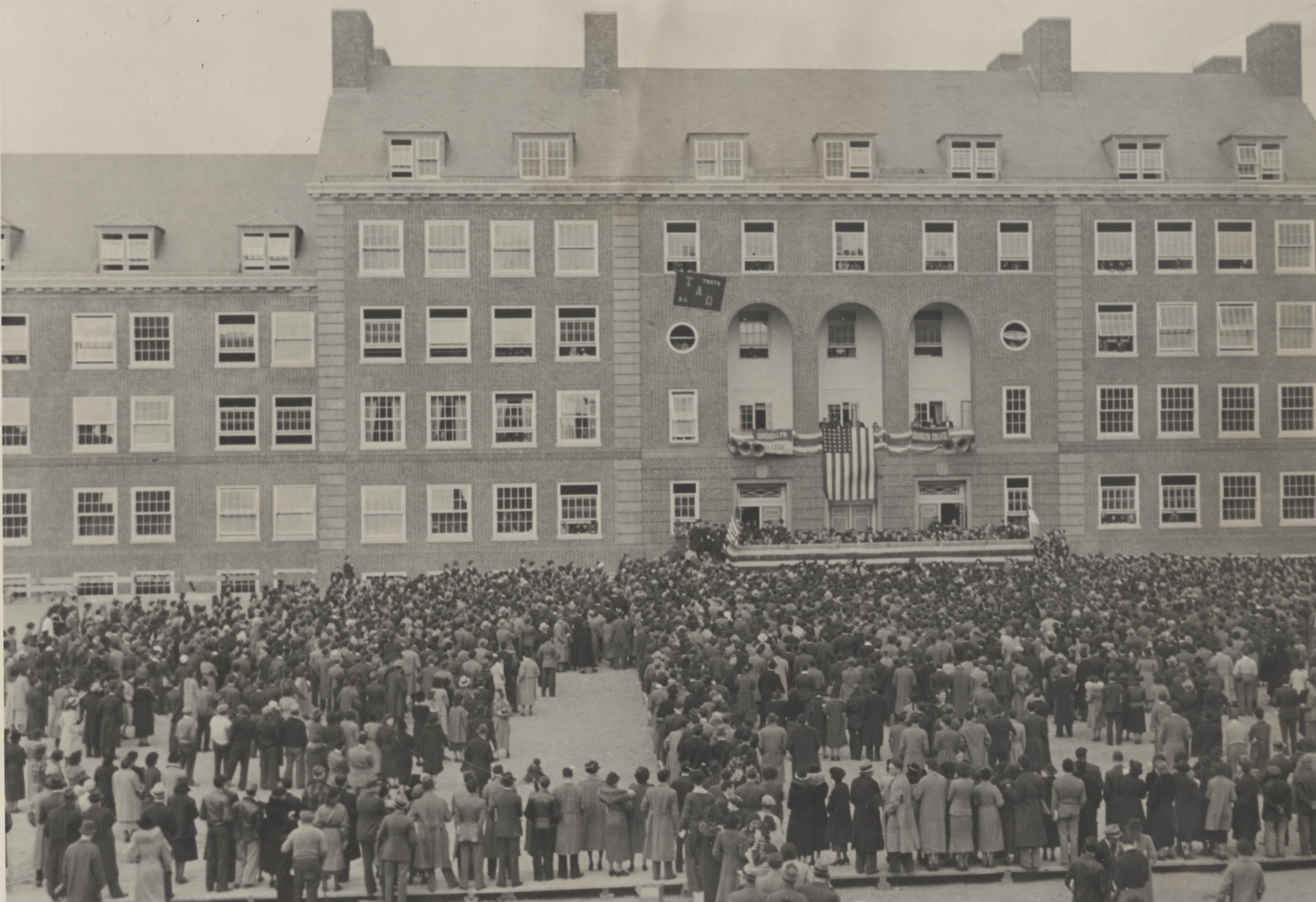 Midwood Campus Dedication Ceremonies, 1936.