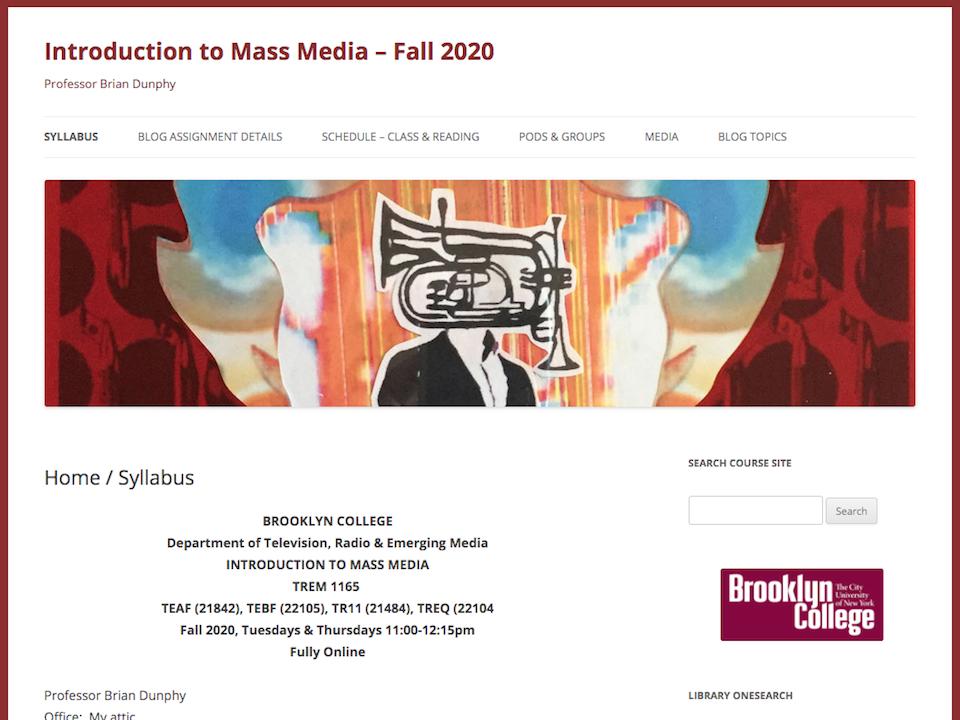 mass media fall screenshot, click for site