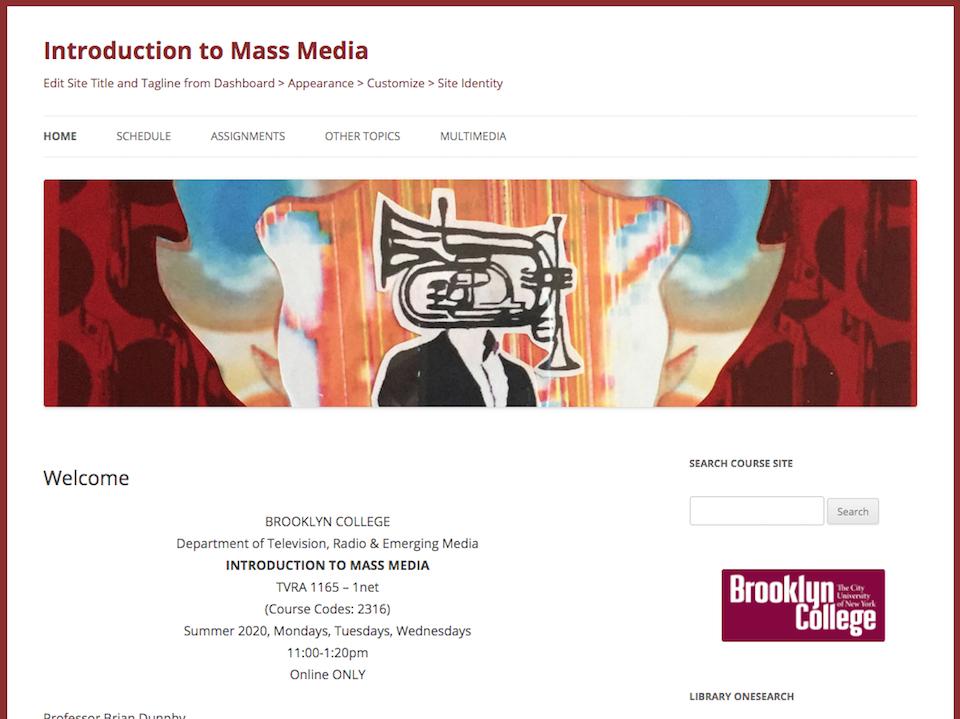 mass media screenshot, click for site