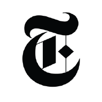 NYTimes logo.Clicking takes you to cuny nytimes account sign-up.