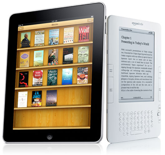kindle and ipad