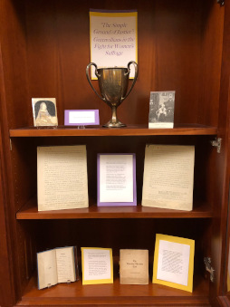 Exhibit: The Simple Ground of Justice: Greenvillians in the Fight for Women's Suffrage