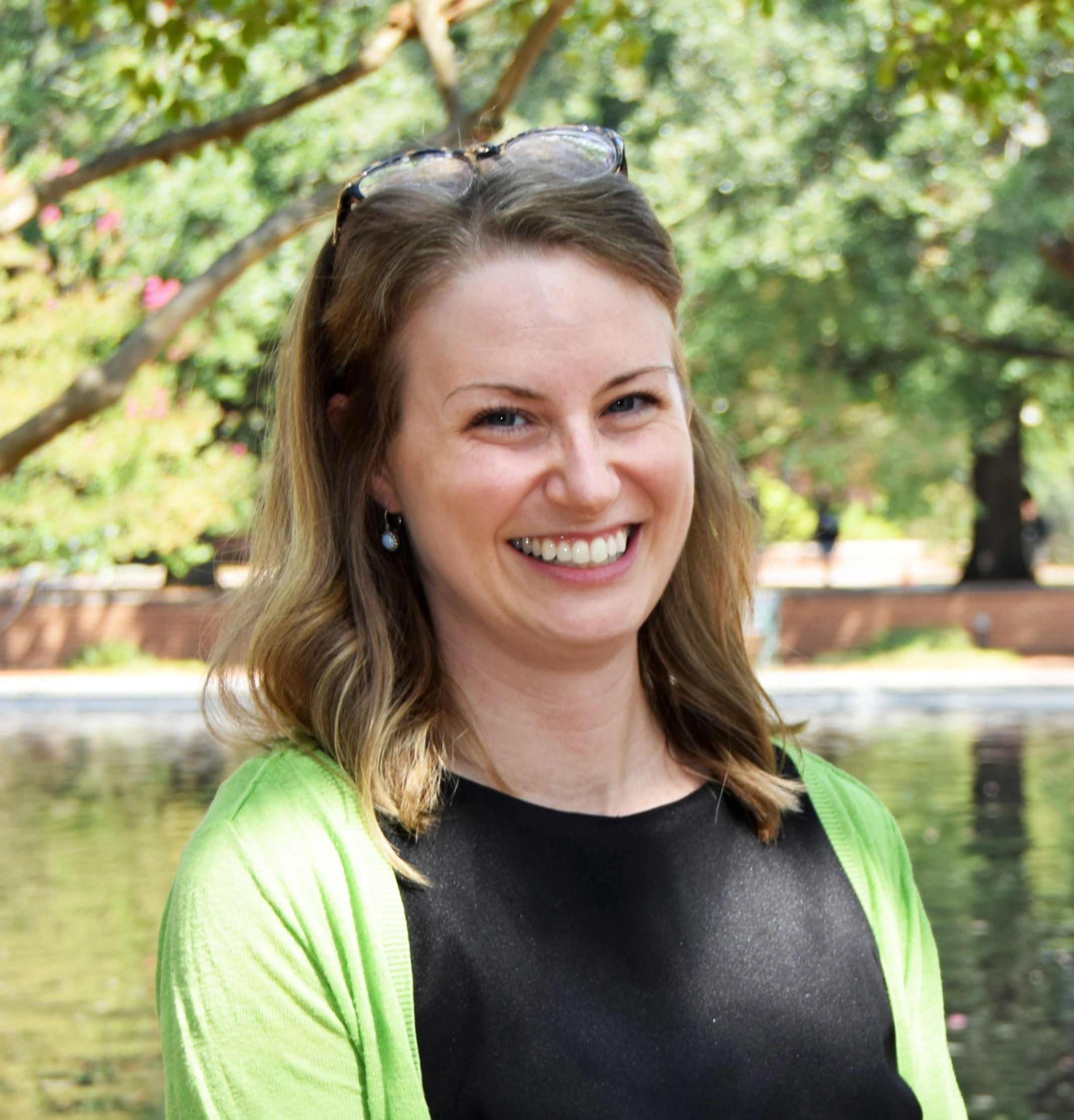 Photo of Amie Freeman, Scholarly Communication Librarian at University of South Carolina
