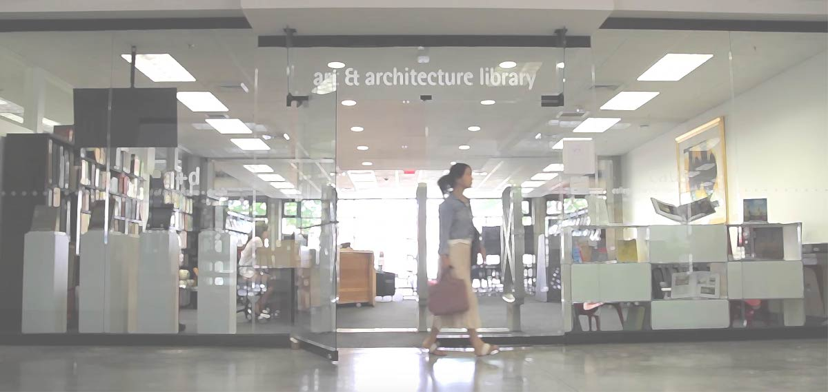 Entrance to the Art and Architecture Library