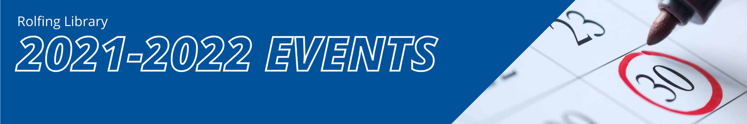 2021-2022 Library Events