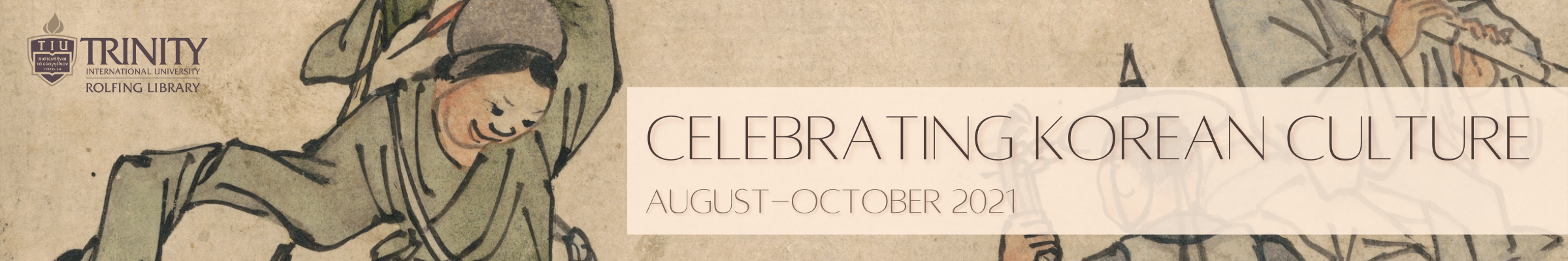 Celebrating Korean Culture August-October 2021