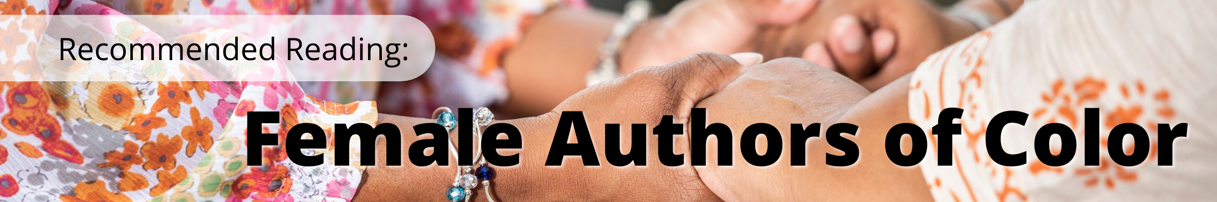 Recommended Reading: Female Authors of Color