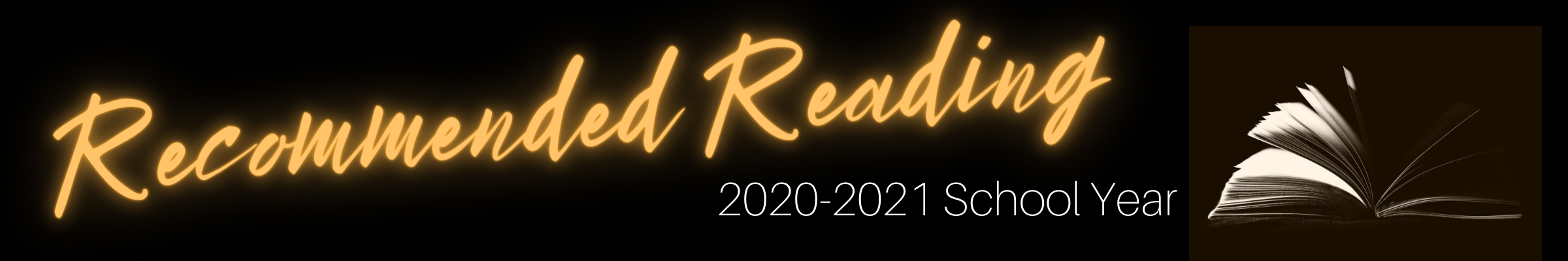 Recommended Reading 2020-2021 School Year