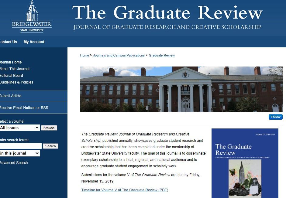 Graduate Review