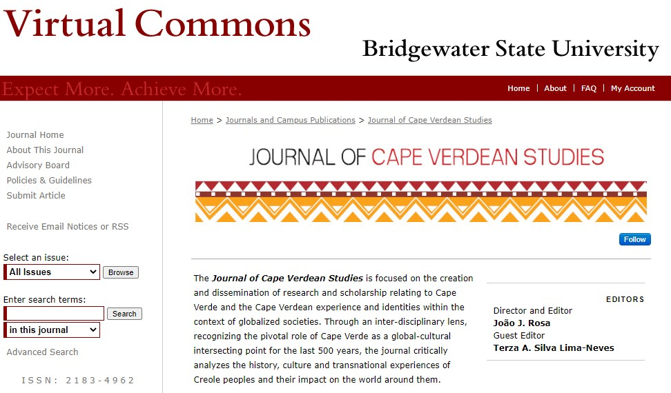 Journal of Cape Verdean Studies