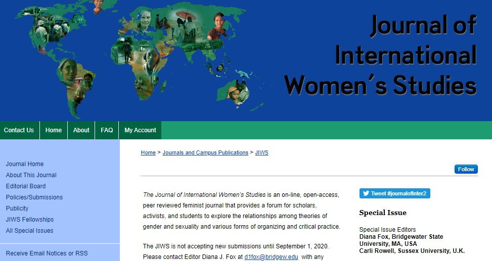 Journal of International Women's Studies