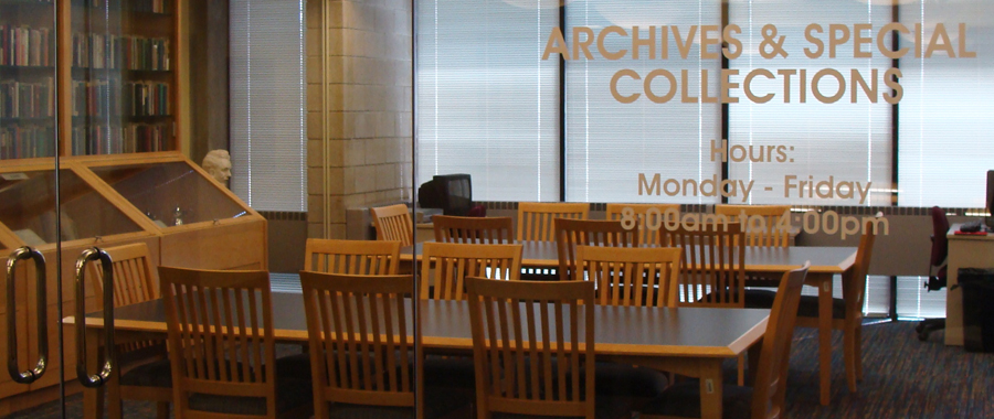Archives and Special Collections