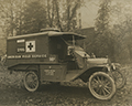 Robert Pellissier memorial ambulance
