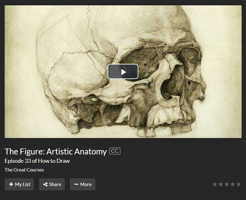 screen cap artistic anatomy