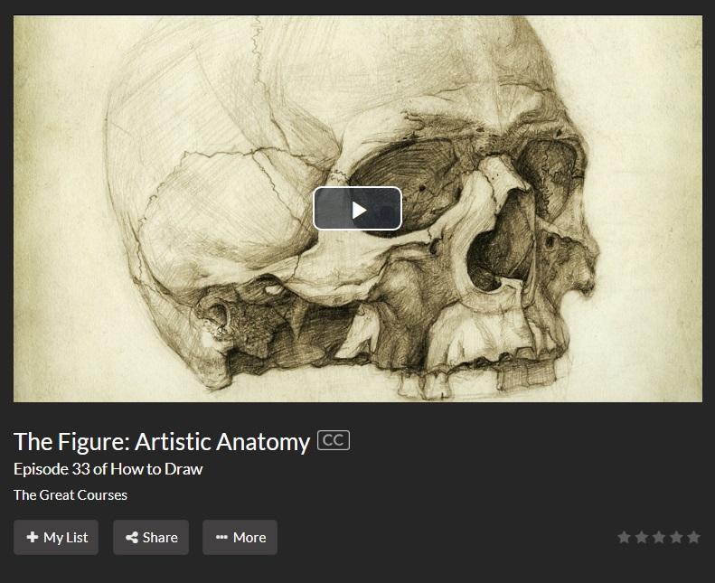 screen cap artistic anatomy