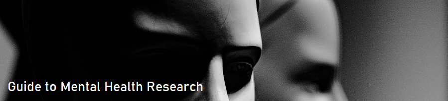 Guide to mental health research