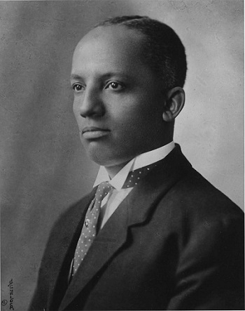 Portrait of Dr. Carter G. Woodson, ca. 1915