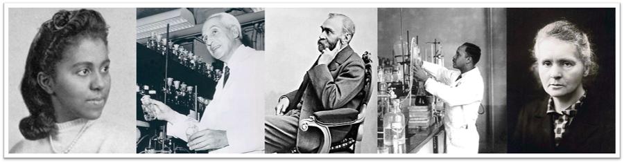 Portraits of chemists