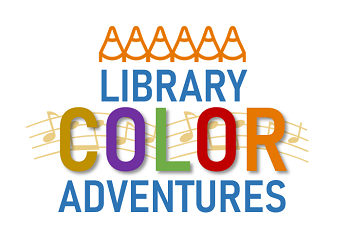 Library Color Adventures Logo