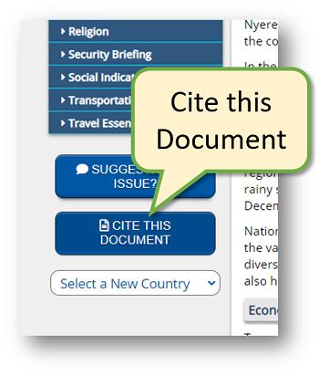 Cite this document button