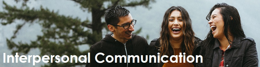 Internpersonal Communication: Three people laughing