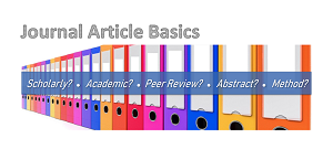 Journal Article Basics